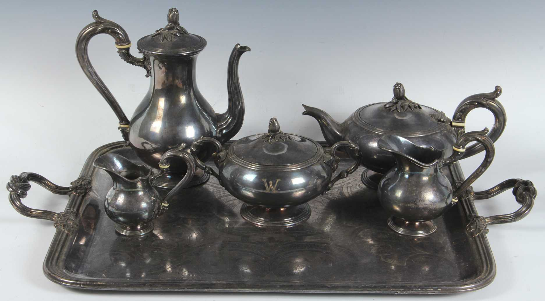 & Vintage Christofle Silver Plate Tea/Coffee Set