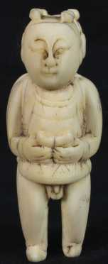 Chinese Carved Bone Figure