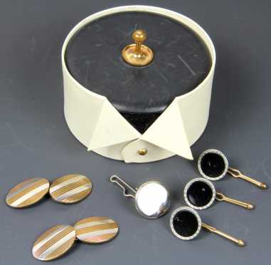 Men's Jewelry, miscellaneous cufflinks and buttons