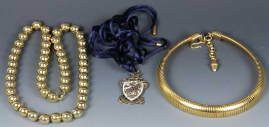 Three Costume Necklaces