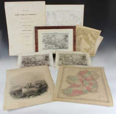 Lot of Maps and Miscellaneous