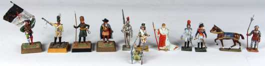 Lot of Historic Lead Toy Soldiers