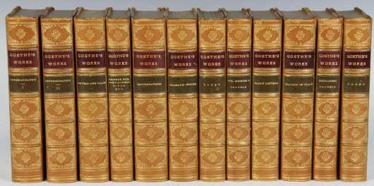 Goethe's Works in 12 volumes