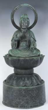 Bronze Chinese Buddha