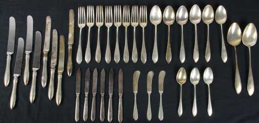 Partial Sterling Silver Flatware Set