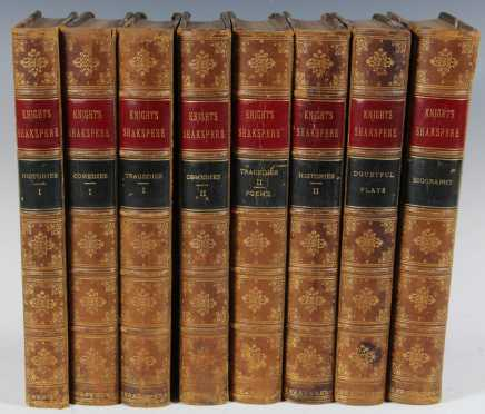 The Pictorial Edition of the Works of Shakespeare, 8 volumes, George Routledge and Sons