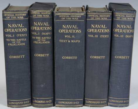 History of the Great War: Naval Operations by Julian S. Corbett