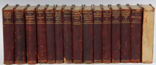 The works of Charles Darwin, 15 volumes