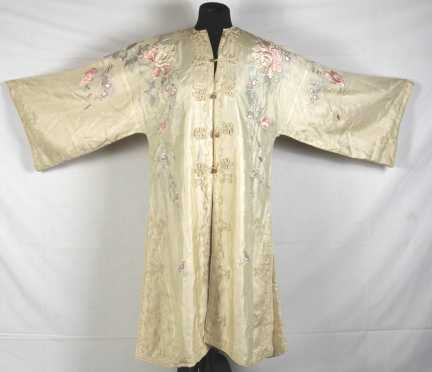 Chinese Silk Embroidered Coat