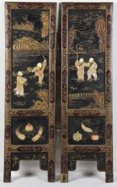Partial Chinese Table Screen