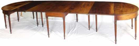 Sheraton Mahogany 3-Part Banquet Table