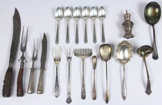 Nineteen Miscellaneous Sterling Silver Pieces