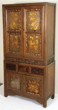 Chinese 2-Tier Cabinet