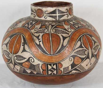 "Bill Freeman, large ""Olla"" clay pot"