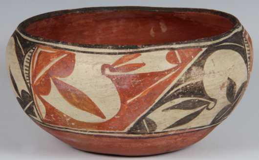 "Native American Made ""Olla"" Bowl"