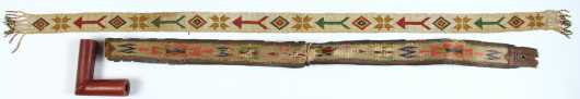 Lot of Three Native American Made Items
