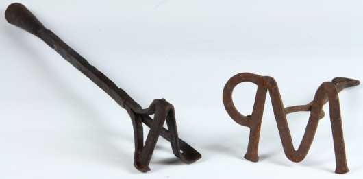 Lot of Two Branding Irons