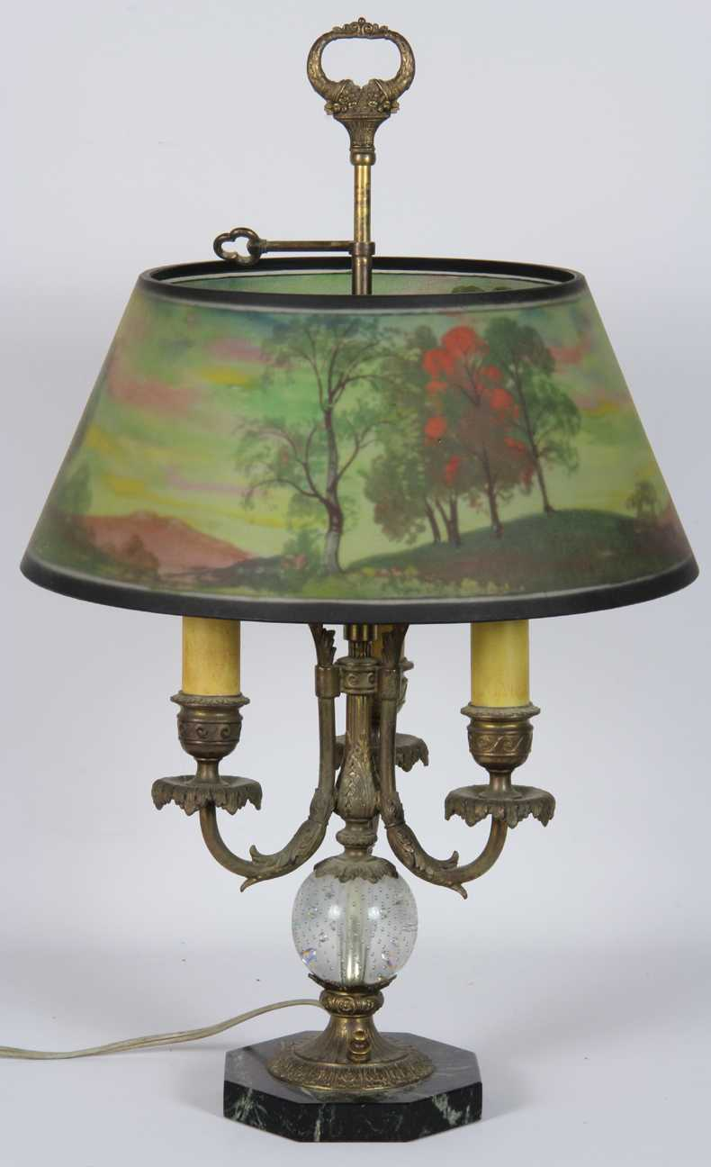 Pairpoint Marked French Style Lamp