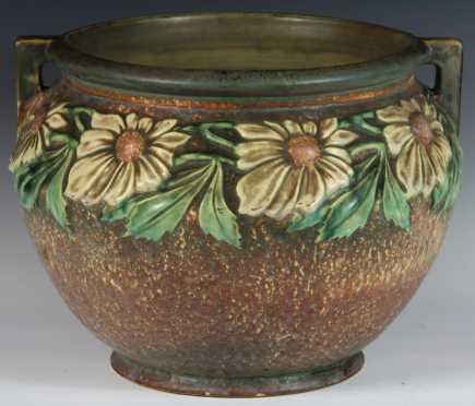 Roseville Pottery Quot Dahlrose Quot Pattern Jardini 232 Re