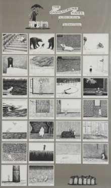 "Edward Gorey, ""The Gashleycrumb Tinies"" Poster"