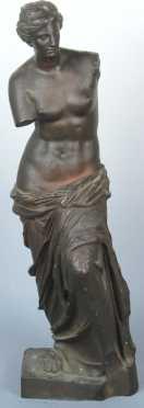 Bronze Classical Casting depicting a Greek woman
