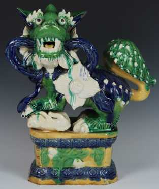 Chinese Pottery Shishi