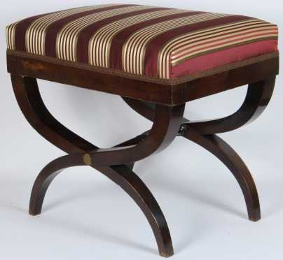 French Curule Stool