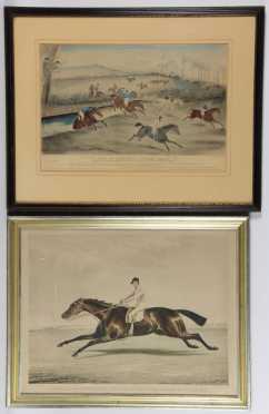 Fox Hunting and Race Horse Prints