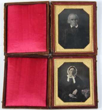 Pair of Daguerreotypes