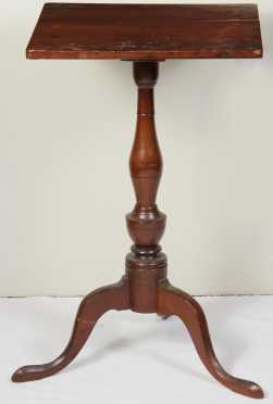 Maple Snake Foot Candle Stand