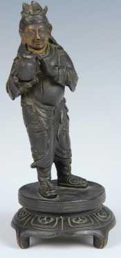 Bronze of a Buddha-like Figure