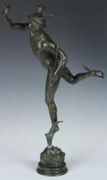 White Metal Casting of Hermes
