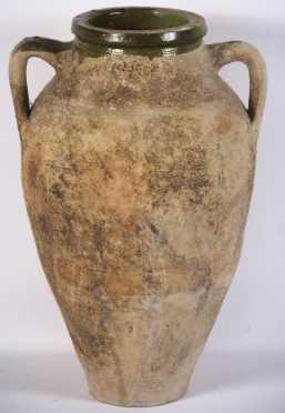 Mediterranean Style Pottery Jar