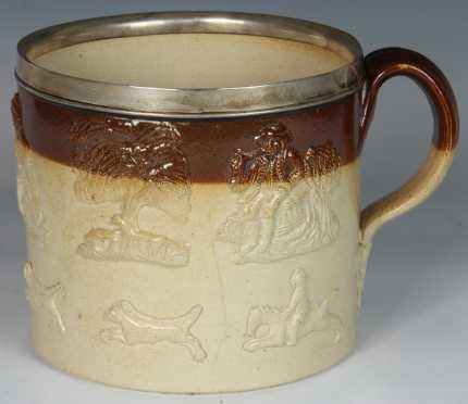 Burslem Pottery Mug