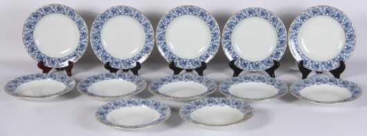 Twelve Royal Worcester Cream Soup Bowls