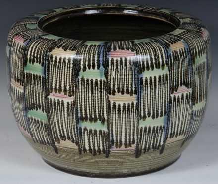 Japanese Art Pottery Planter