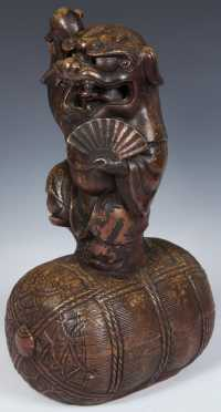 Chinese Stoneware Figure