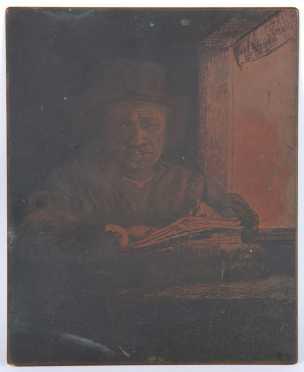 John deMartelly, copper plate engraving