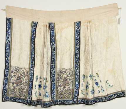Chinese Needlework Skirt