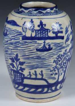 Chinese Form Porcelain Vase
