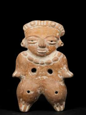 A Southern Maya Mold-made figure, 1000 - 1200 AD
