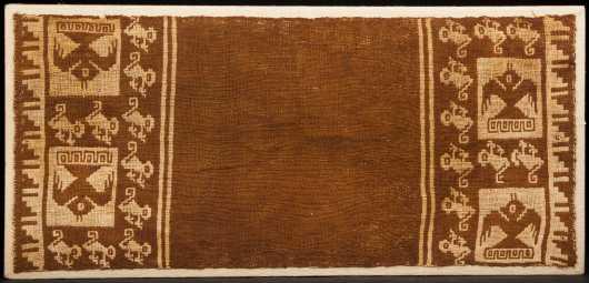A Chancay textile,  1200 - 1470 AD