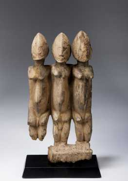 A Dogon figural group