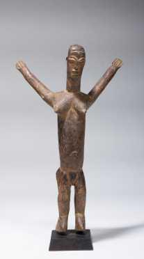 A Lobi figurine