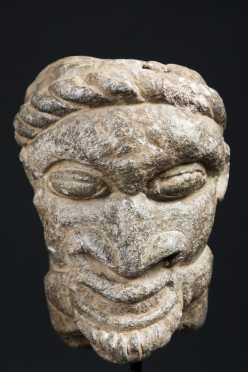 A Monumental Sherbro/Bullom Piomdo head