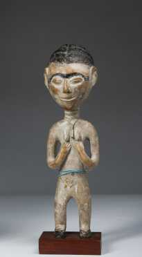 An Akan shrine figure