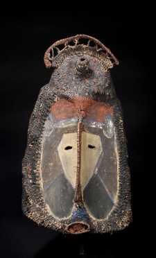 A fine Abelam helmet mask, New Guinea