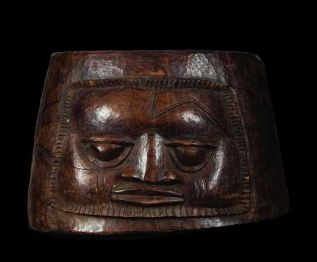 A superb Yoruba ritual mortar by Olwowe of Ise
