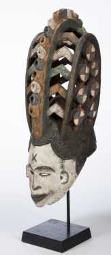 An Igbo maiden spirit mask