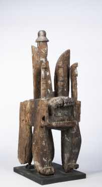 A Fine Urhobo Ivri figure
